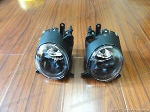 1pair Driving Fog Lights Lamp Clear For Mitsubishi Lancer Cj 2007 9 2012