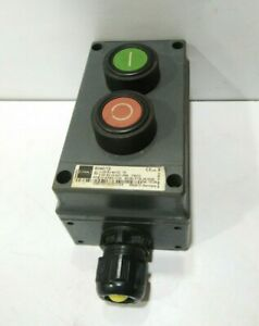 Stahl 8040 12 Start Stop Switch Box Stahl Consig Made In Germany