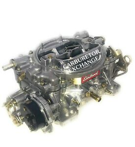 1411 Edelbrock Carburetor 750 Cfm Electric Choke