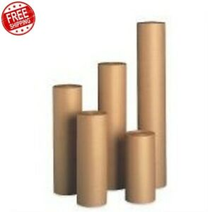 900 40 Lbs Brown Kraft Paper Roll Wrapping Shipping Cushioning Void Fill
