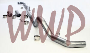 5 Stainless Downpipe Back Exhaust 15 5 17 Chevy gmc Duramax 6 6l Turbo Diesel