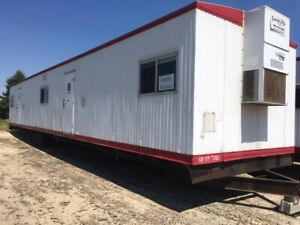 Used 2008 12x60 Mobile Office Trailer Modular Building Sn 736208 Chicago Il