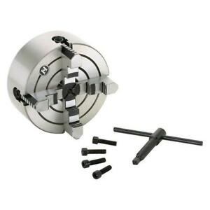 Shop Fox M1061 6 Inch 1 5 Inch Bore 4 Jaw Independent Jaw Lathe Chuck