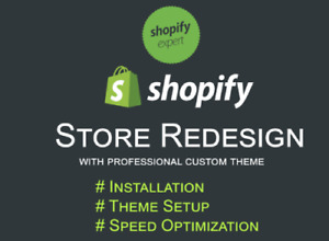 Redesign Your Existing Shopify Store With Premium Theme