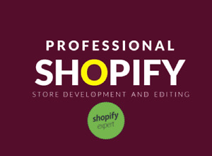 I Will Create Shopify Store Or Edit Shopify Website