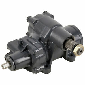New Power Steering Gear Box For Chevy Gmc Full Size Truck Van Suv Brand