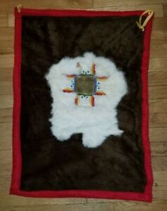 Vintage Wall Hanging Runner Rug Native American Design