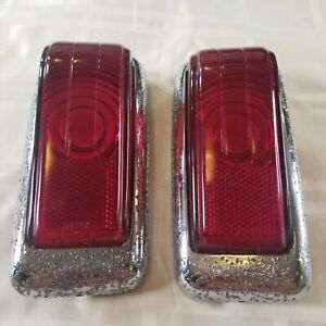 Desoto 1946 1947 1948 Pair Left Right Tail Light Assembly