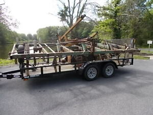John Deere Model 1600 Chisel Ripper Plow With 16 Shanks