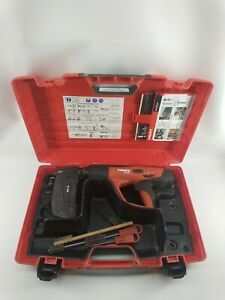 Hilti Dx 460 Powder Actuated Fastening Tool W X 460 f8 And Mx 72 Attachment