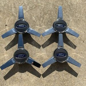 2005 2014 Ford Mustang Factory Oem Spinner Style Wheel Center Caps Set Of 4 Wow