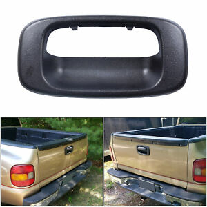 Tail Gate Tailgate Handle Bezel Trim For 1999 2007 Chevy Silverado Gmc Sierra