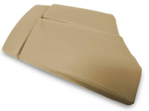 Center Console Lid Armrest Leather Cover For Bmw E60 2003 2010 Beige
