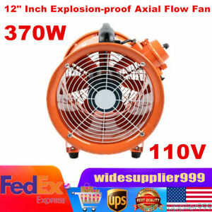 Ignition Resistant Ventilator Explosion Proof Ex Axial Fan 12 Extractor Blower