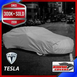 Tesla Outdoor Car Cover All Weatherproof 100 Full Warranty Custom Fit