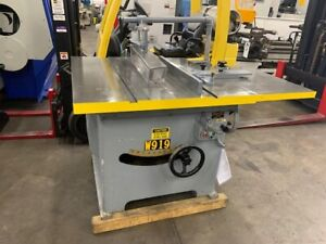 Tannewitz Model Xj Table Saw Xj 5615