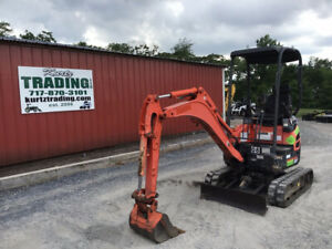 2016 Kubota U17 Hydraulic Mini Excavator Super Clean One Owner Only 1000hrs