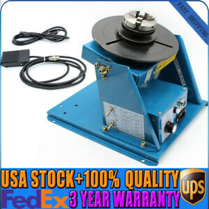 Rotary Welding Positioner Turntable Welding Machine Mini 2 5 3 Jaw Lathe Chuck