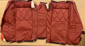 Brand New Oem Bentley Continental Gtc Rear Leather Seat Covering 3w7885405a
