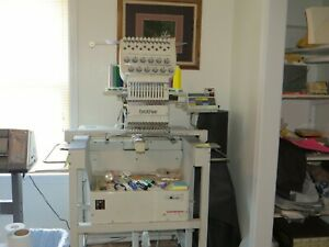 Brother Bes 1210ac Embroidery Machine 12 Needle