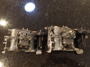Solex Carburetors Mercedes Benz 190sl W121