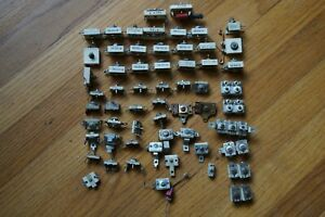 Over 60 Vintage Capacitors Variable Trimmer Etc For Radio ham Gear Nice Lot