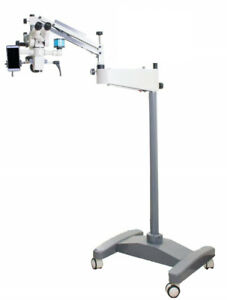 Tiltable 0 180 Degree Ophthalmic Operating Surgical Microscope 3 Step 110 240v