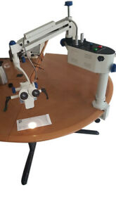 Portable Ophthalmic Surgical Operating Microscope 3 Step 90 Degree Ce 110 240v
