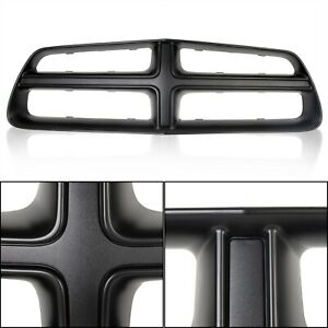 Black Front Grille Shell Trim New For 2011 2014 2012 2013 Dodge Charger