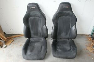 2005 Chrysler Crossfire Zh Roadster 147 Srt 6 Left Right Suede Seat Cushion Set