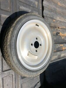 Ford Thunderbird Turbo Coupe Aluminum Spare Wheel 15 Fox 87 93 Mustang Cobra 4