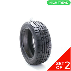 Set Of 2 Used 225 50r17 Goodyear Ultra Grip Performance 98v 10 32
