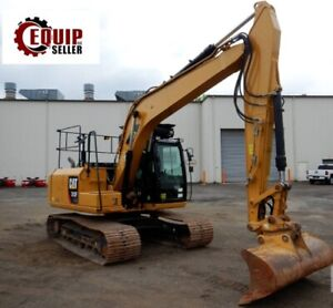 2016 Caterpillar 313flgc Hydraulic Crawler Excavator Loader