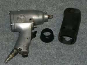 Chicago Pneumatic 3 8 Air Drive Impact Wrench Cp724 Tool W Cover