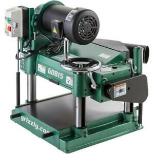 Grizzly G0815 240v 15 Inch 3 Hp Heavy duty Planer