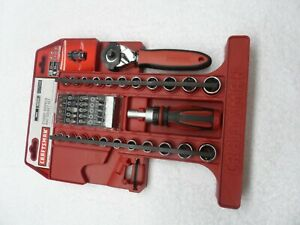Craftsman 43046 46 piece Stubby Tool Wrench And Socket Set Part 17149