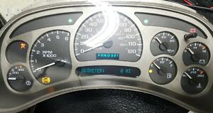 03 04 05 Yukon Denali Instrument Gauge Cluster Pick Your Led Backlighting Color