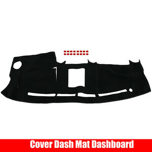 Dash Mat Cover Mat Dashboard Cover Black For 2004 2008 05 06 07 Ford F150 Truck