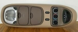 97 02 Expedition Overhead Console Rear Climate Control Digital Display Lights