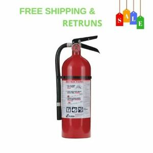 Pro Fire Extinguisher Bundle Rated With 2a 10 b c Additional Mounting Bracket