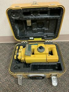 Topcon Gts 313 Electronic Total Station Series With Hard Case
