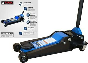 K Tool International 63133a 3 33 Ton Low Profile Service Jack New Free Shipping