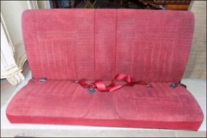 3rd Row Bench Seat For A 1989 1991 Ford Bronco Red