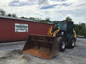 2017 Gehl 650 4x4 Compact Wheel Loader W Cab Coupler Only 1200 Hours