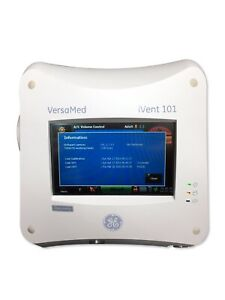 Ge Versamed Ivent 101 Discovery Portable Hospital Medical Clinical Ventilator