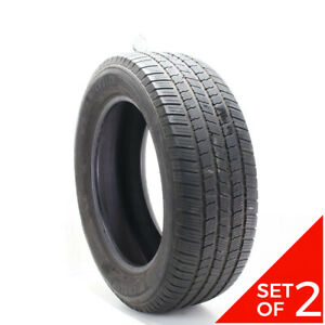 Set Of 2 Used 275 55r20 Michelin Defender Ltx Ms 113t 6 5 32