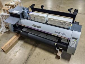 Mimaki Cjv30 100 For Parts Only Needs Main Board All Other Parts Good