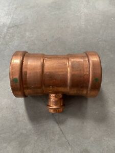 Viega Propress Fittings 22308 Xl Copper Tee 3 X 3 X 1 Pxpxp