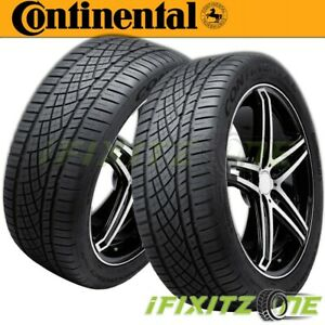 2 Continental Extremecontact Dws 06 All season Performance 205 55zr16 91w Tires