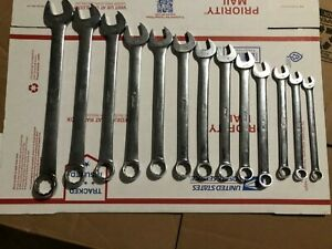 Snap On 13pc Metric Combination Wrenches 10mm 23mm Oexm No 13mm Usa